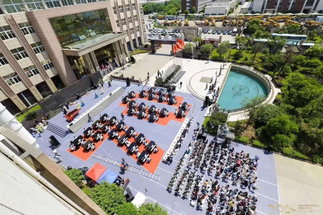 海伦钢琴助力2019中国大运河国际钢琴艺术节开幕式