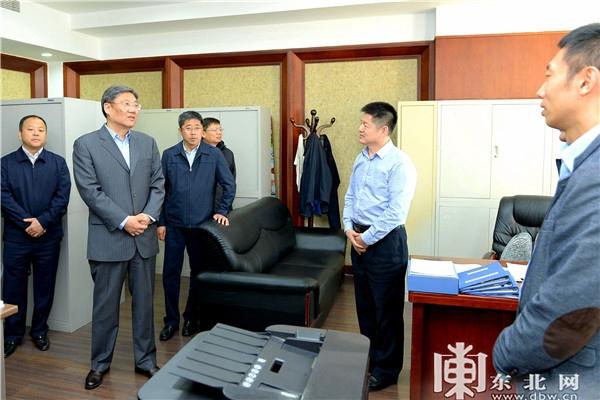 王文涛在调研哈尔滨市委机关搬迁工作时强调 以坚定信心决心推动哈尔滨新区发展
