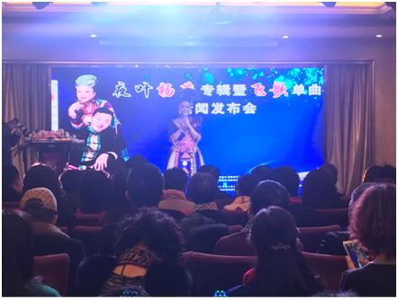 原创歌手杨燕专辑发布会在贵阳举行