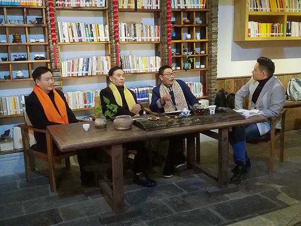 涪陵广播电视台《钩深大讲堂》特别节目在涪州书院录制