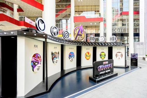 上海世茂广场携手漫威影业,带来4月观展盛宴