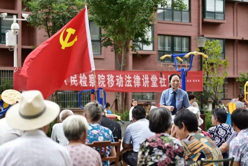 """河南郑州上街区检察院以""""板凳讲堂""""助"""