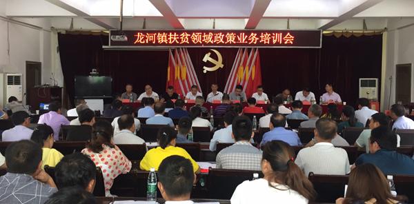丰都县龙河镇:举办扶贫领域政策业务专题培训