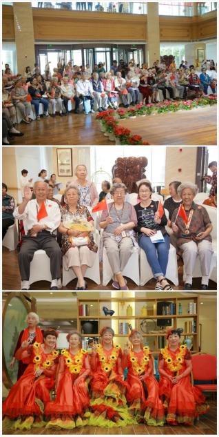 大愛城慶祝新中國成立70周年:誠意致敬,歌聲嘹亮