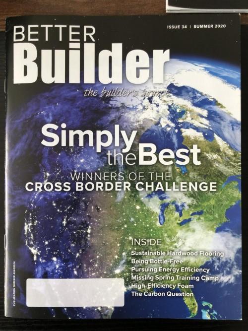 安派森总裁罗德·格雷应邀接受国外杂志《Better Builder》专访