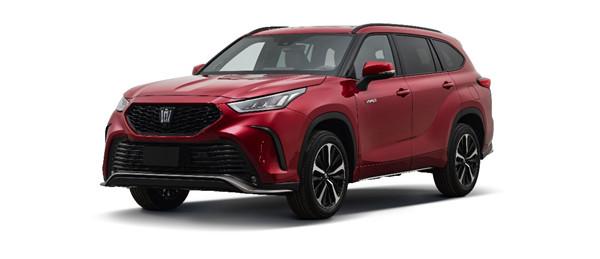 传承经典 再续传奇 皇冠CROWN品牌首款SUV命名皇冠陆放