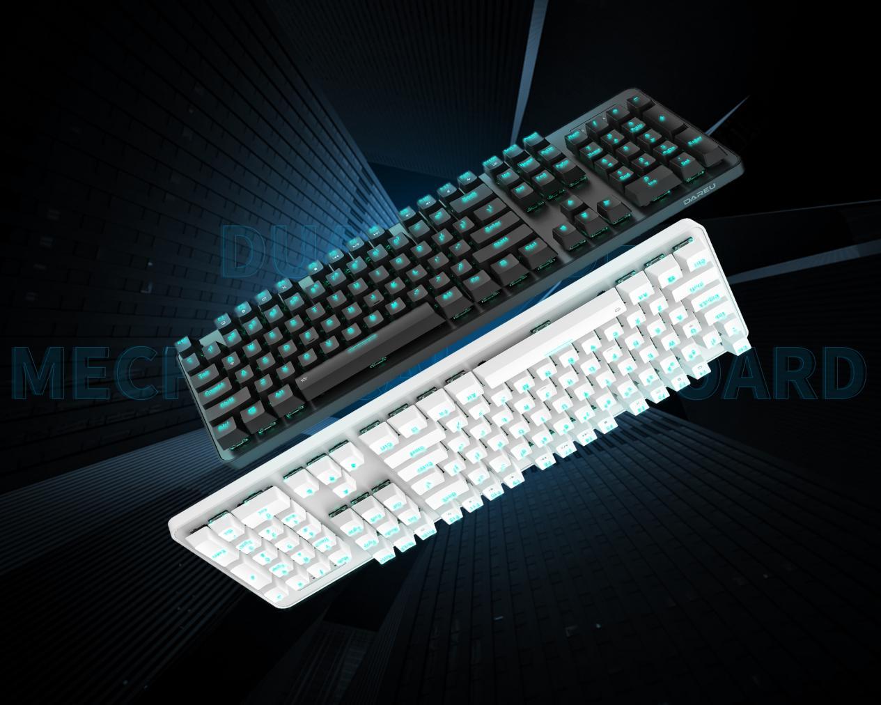 双模联动,强劲续航 ▎达尔优EK810有线+2.4G双模机械键盘满载登录